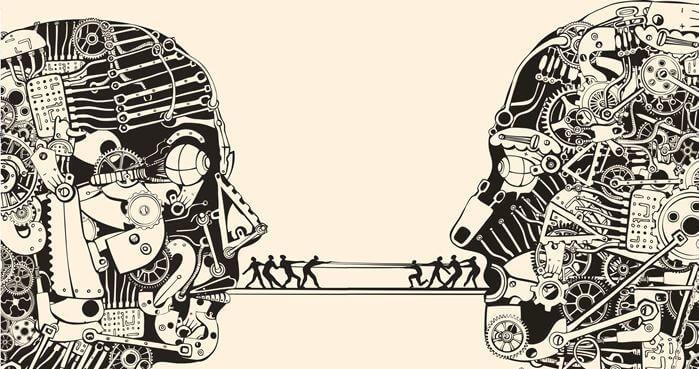 karmaşık mekanizmalarla konuşmak