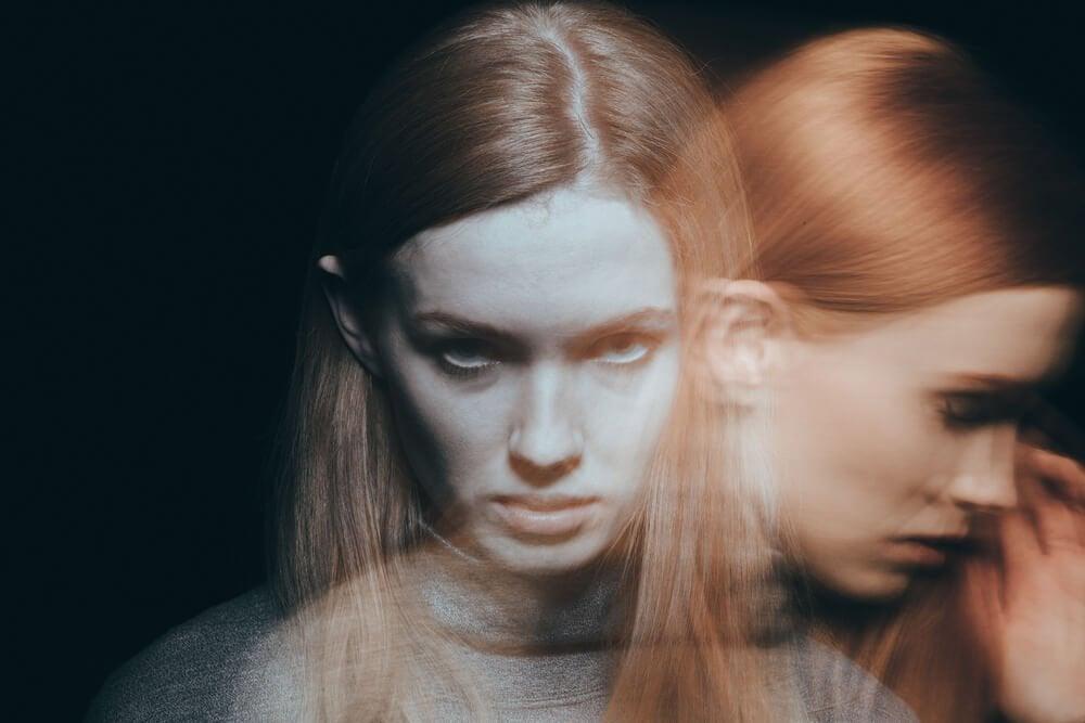 kadın bipolar gibi olmuş
