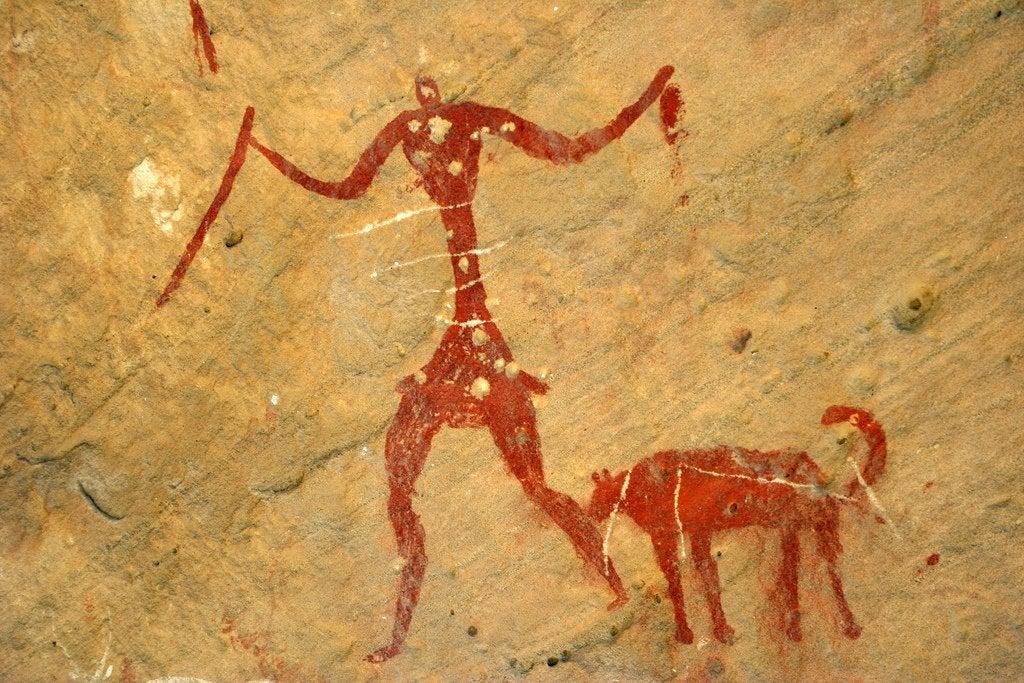 mağara duvar resmi