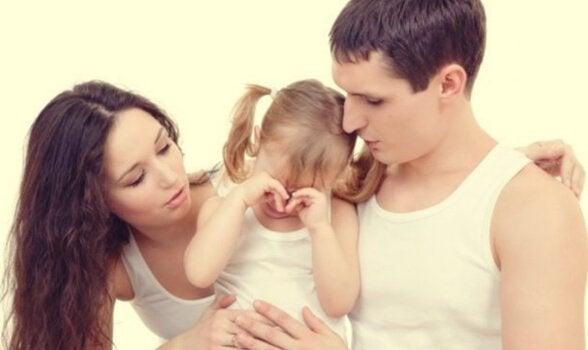 ağlayan çocuğu teselli etmek