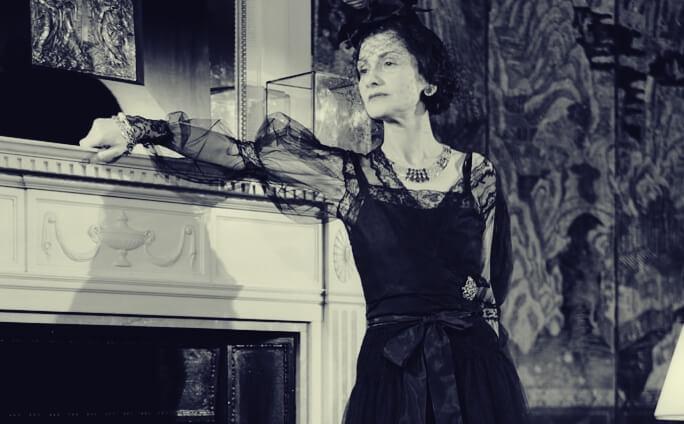 Coco Chanel evinde
