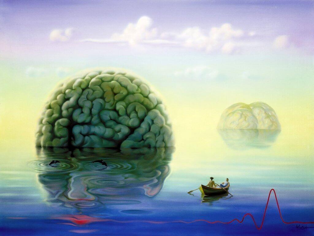 denizde yüzen beyin