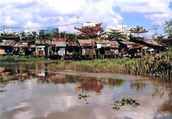 fakir mahallede gecekondular