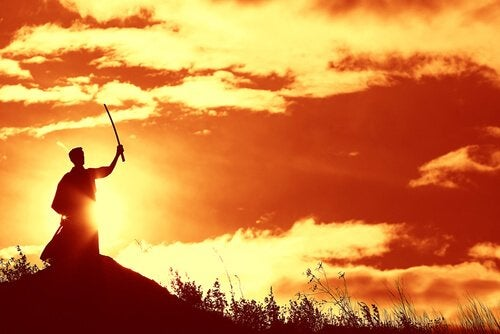 günbatımında samuray