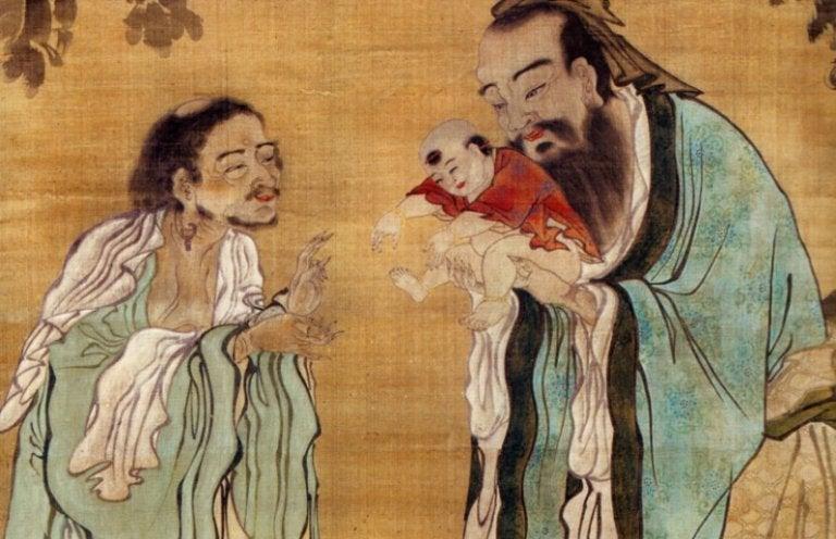 konuşan Çinli adamlar