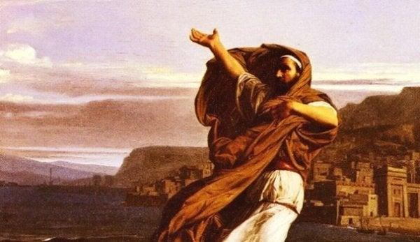 Demostenes, Kekeleyerek Konuşan Ünlü Konuşmacı