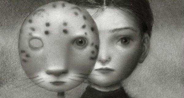 kız ve maske