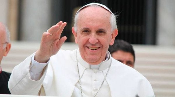 papa francis el sallıyor