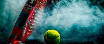 dumanlar içinde tenis topu