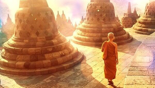 tibetteki bir tapınak