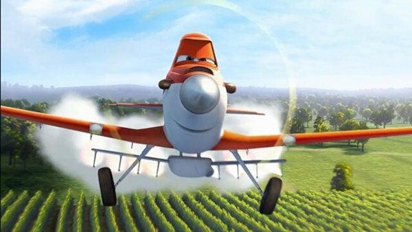 uçaklar film ilaçlama uçağı