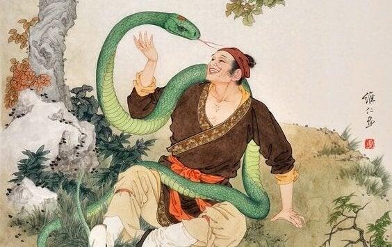adam ve yılan