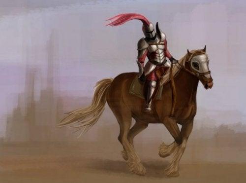 at binen şövalye