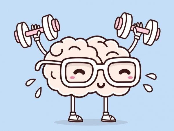 ağırlık kaldıran beyin
