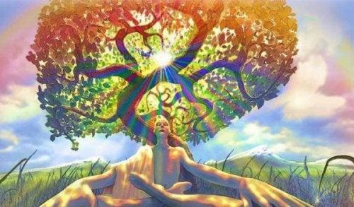 ağaç ve kadın