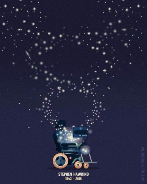 Stephen Hawking'in tekerlekli sandalyesi