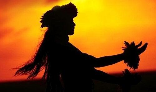 Hawaili kadın