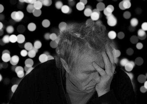 Alzheimerlı adam
