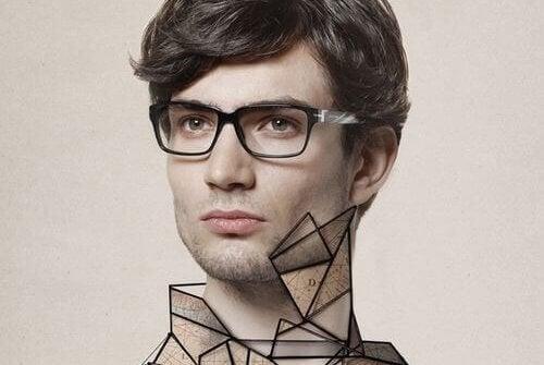gözlüklü erkek