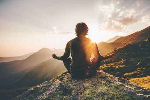 doğada meditasyon