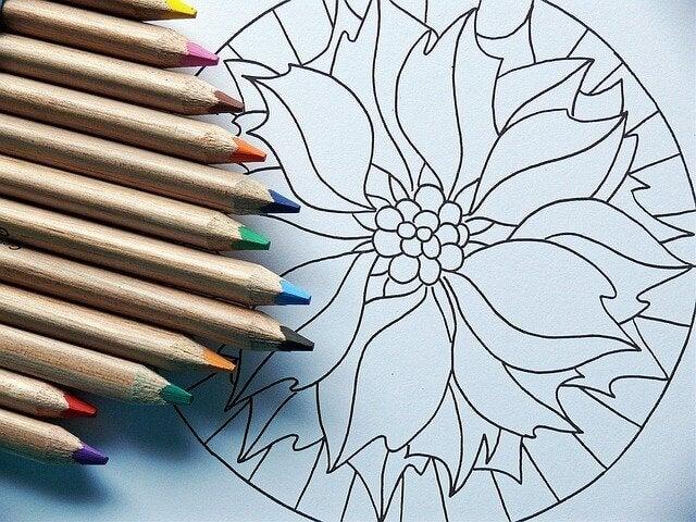mandala boyama kalemleri