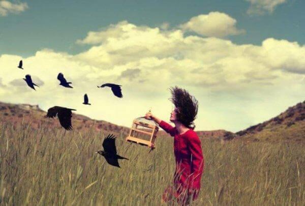 kuşları özgürleştirmek