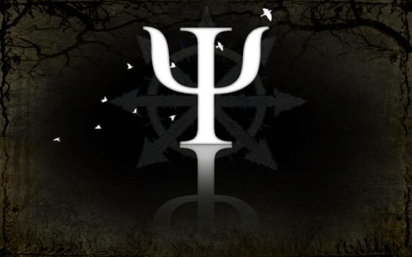 psikoloji sembolü siyah beyaz sembol