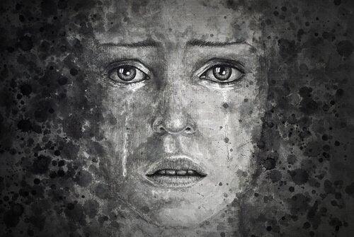 ruhu incinmiş kadın