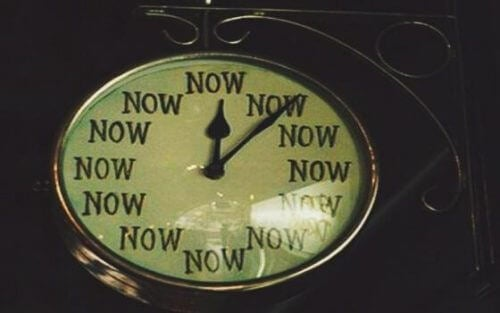 şimdili saat