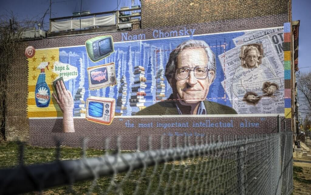 Chomsky grafiti