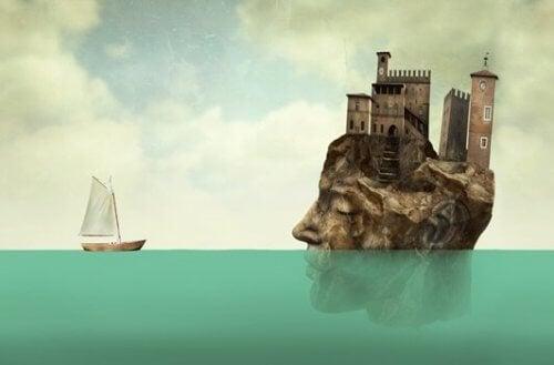 insan kafası şeklinde ada