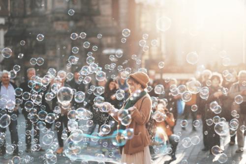 meydandaki baloncuklar