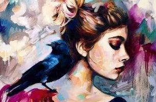 profilden kadın tablosu