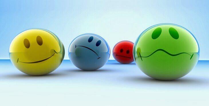 Duyguları temsil eden toplar