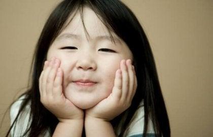 küçük kız çocuğu