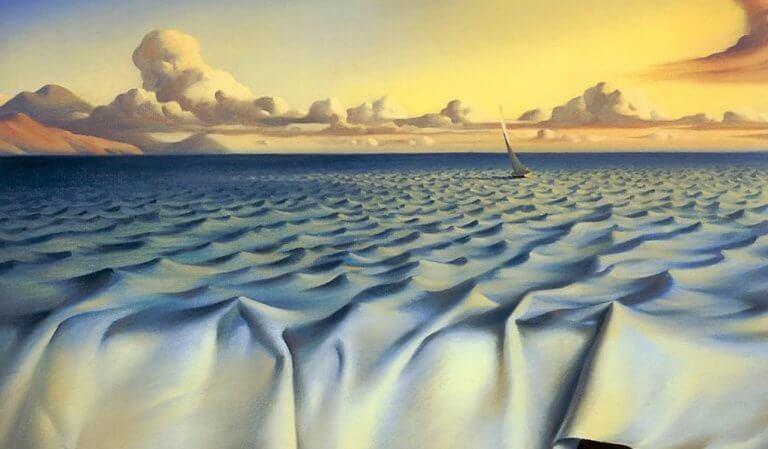 deniz ve çarşaf