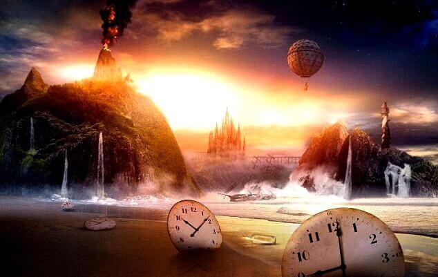 deniz kıyısında saatler