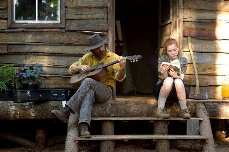 gitarlı sahne