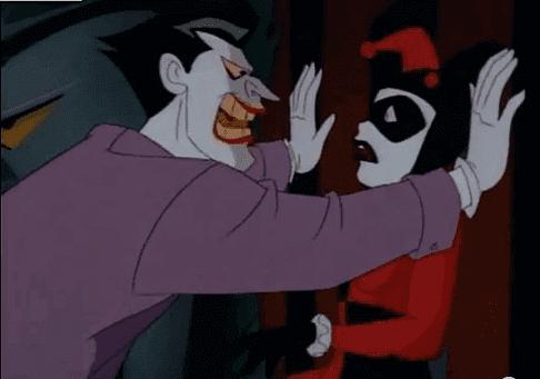 joker harley quinn ile konuşuyor