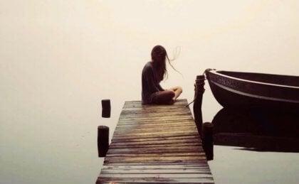 kadın ve tekne