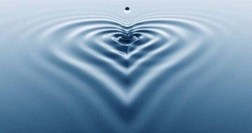 kalp şeklinde dalga