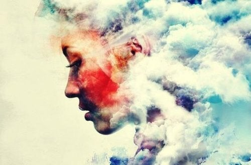 kız ve bulutlar