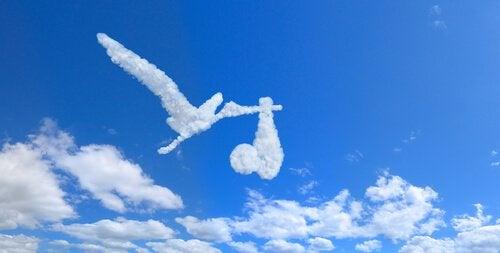 değişik şekilli bulutlar