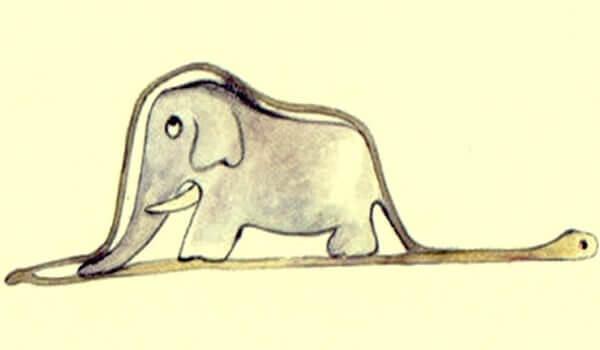 yılan ve fil karikatürü