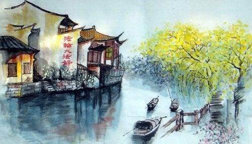 Eski Bir Zen Hikayesi: Nehri Geçmek
