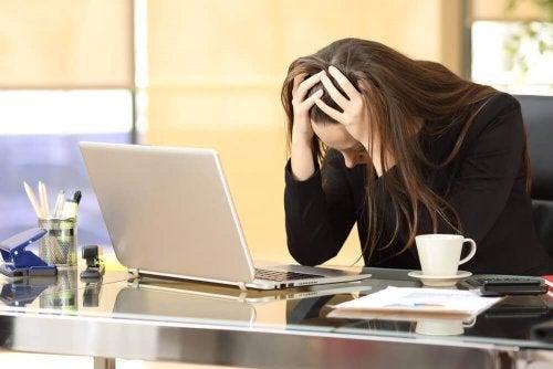 işle ilgili stres