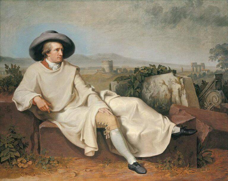Goethe'nın uzanmış resmi