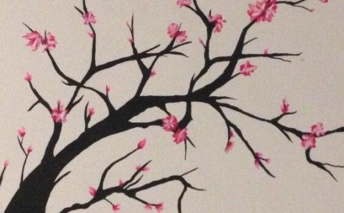 ağaç üzerindeki çiçekler