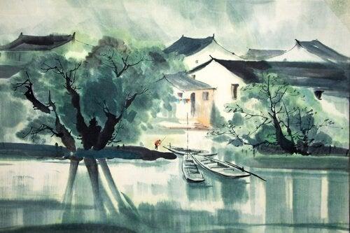 zen hikayesi ve nehir