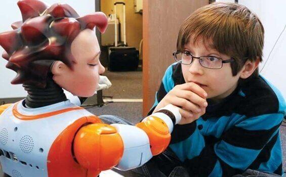 Robotlar ve Otizmli Çocuklar